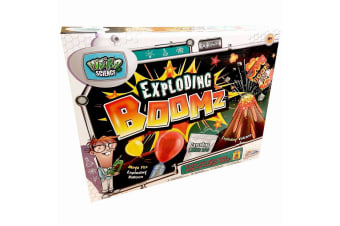 Weird Science Exploding Boomz Science Set