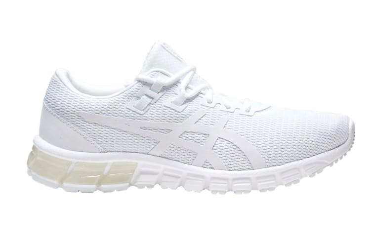 ASICS Men's GEL-Quantum 90 Running Shoe (White/White, Size 9.5)