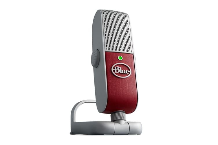 Blue Raspberry USB and Lightning Microphone - Red (90021625)