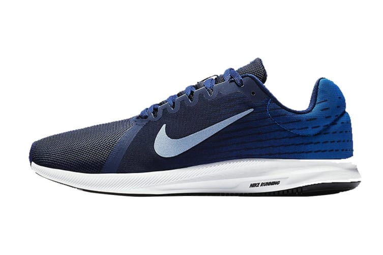 Nike Downshifter 8 Men's Running Shoe (Blue/White, Size 8.5 US)