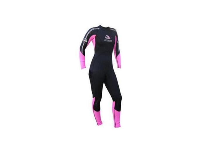 Adrenalin Ladies Steamer Long Sleeve & Leg 3mm/2mm Wetsuit 14 Pink