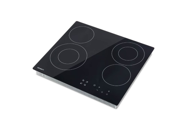 Devanti 6300W Four Burner Ceramic Cooktop with Touch Controls