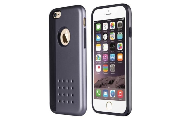 iPhone 6 & 6S Case  Stylish Cookie Armor High-Quality Protective Cover  Grey