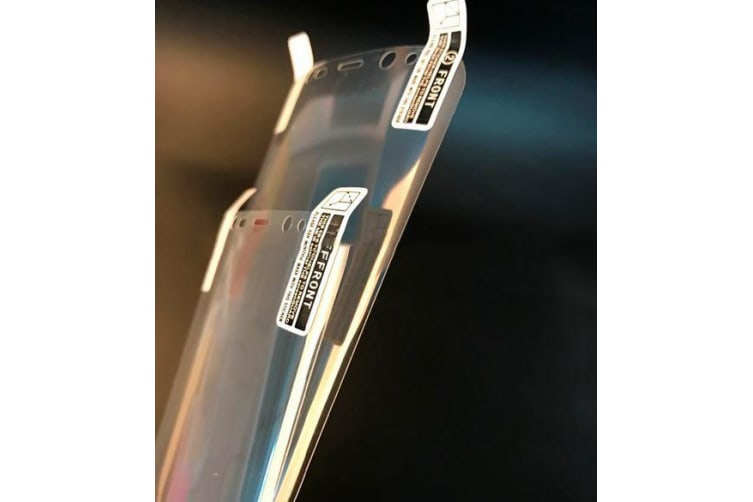 For Samsung Galaxy S9 PLUS 2-Pack Full Curved Edge to Edge Screen Protector