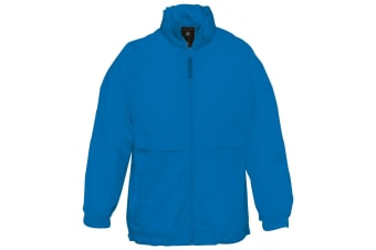 B&C Childrens Sirocco Lightweight Jacket / Childrens Jackets (Royal) (7/8)