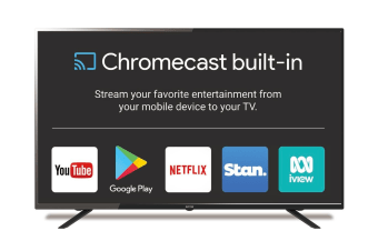 "SONIQ NX-Series 55"" Ultra HD Google Chromecast TV N55UX17B-AU"