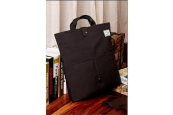 "Colour Pack Casual Series 15.6"" Notebook Laptop Folding Multi-Style Carry Bag ( Black ) Super"