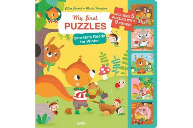 My First Puzzles - Sam Gets Ready For Winter