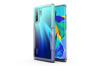 MAXSHIELD Slim Clear Heavy Duty ShockProof Case for  P30 Pro-Clear
