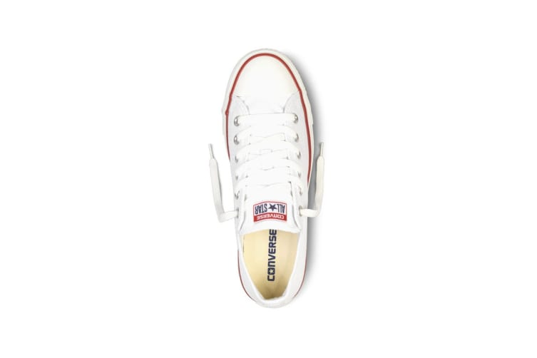 Converse Chuck Taylor All Star Ox Lo (Optical White, US Mens 6.5 / US Womens 8.5)