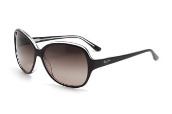 Maui Jim Maile RS294-02K Black with Crystal Mens Womens Sunglasses