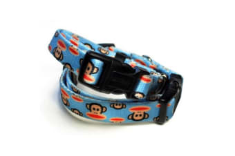 26 Bars & A Band Paul Frank Signature Julius Dog Leash (Blue)