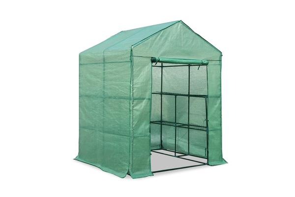 Image of 1.4 x 1.55M Walk-in All Weather Green House