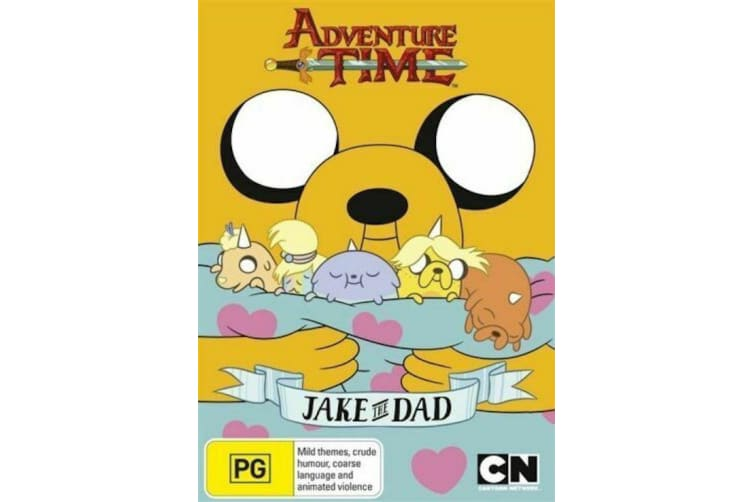 Adventure Time - Jake The Dad : Collection 5  - Series Rare- Aus Stock Preowned DVD: DISC LIKE NEW