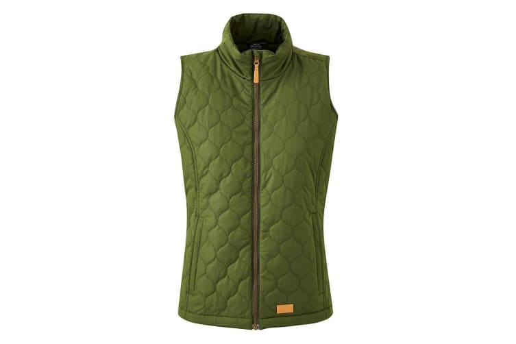 Trespass Womens/Ladies Companion Quilted Insulated Padded Gilet (Khaki) (3XL)