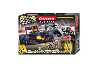 Carrera Go 1:43 Kids On The Grid 217cm Slot Car 7.2m Circuit Racing Toy 6y+
