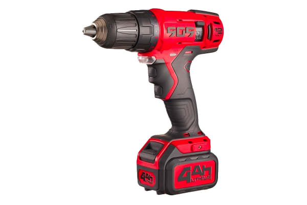 "909 12V 4Ah Touch Pro Drill Driver with 1/2"" Single Sleeve Keyless Chuck (T124)"