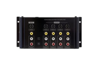Pro2 4 Way Av Distribution Amp