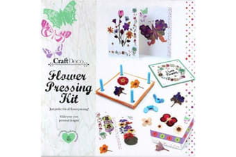 Grafix Craft Deco Flower Pressing Kit
