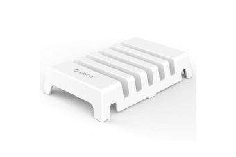 Orico WHT 5-Way Desktop Holder/Stand Organiser for iPhone/iPad/Samsung/Charging