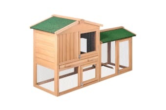 Large Pet House with 2 Storeys Run