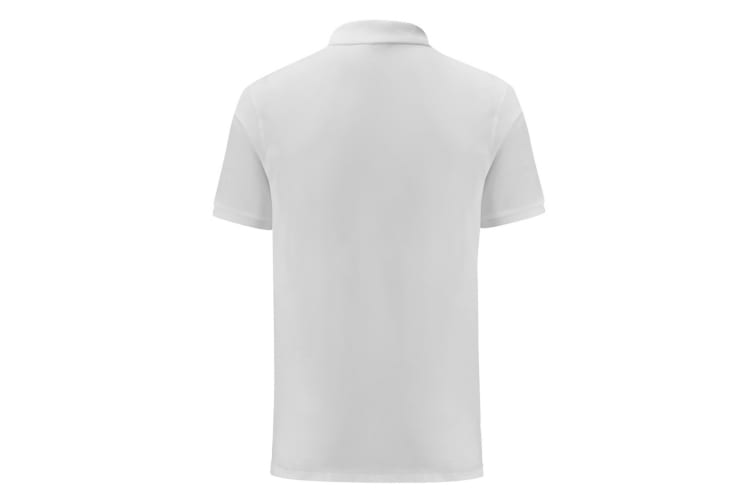 Fruit Of The Loom Mens Iconic Pique Polo Shirt (White) (XL)