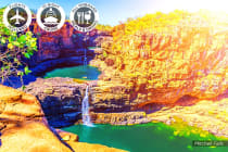 Kimberley Cruise: 15 Day Luxury Kimberley Cruise Journey Including Flights for Two