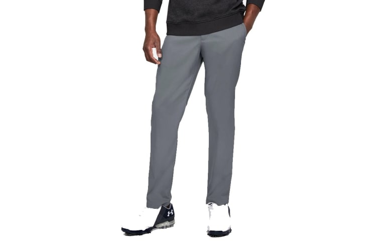 Under Armour Men's Tapered Golf Pants (Zinc Gray, Size 36/34)