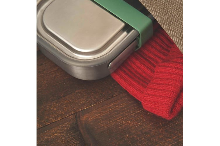 Black + Blum 1L Vacuum Insulated Stainless Steel Lunch Food Box Container Green