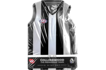 Collingwood - The Premiership Years 90-2010 Bent Tin - Region 4 Preowned DVD: DISC LIKE NEW