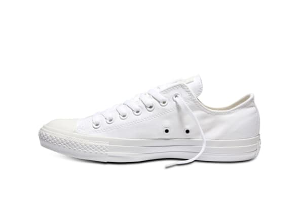 Converse Chuck Taylor All Star Ox Lo (White Mono, US Mens 10.5 / US Womens 12.5)