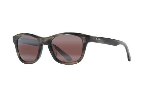 Maui Jim Ka'aPoint - Charcoal (Maui Rose Polarised lens) Unisex Sunglasses