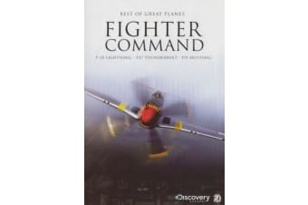 Best Of Great Planes Fighter Command -Educational Series Region 4 DVD NEW
