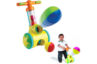 Tomy Pic n Pop Ball Blaster Play Learn Push Along Game Toy for Toddler/Child/Kid