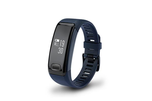 Fitness Band Heart Rate Monitor Camera Selfie Control For Apple Samsung Blue