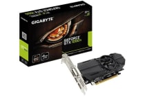 Gigabyte nVidia GeForce GTX 1050 Ti OC 4GB Low Profile PCIe Video Card 8K @ 60Hz DP 2xHDMI DVI 4xDisplays 1442/1417 MHz