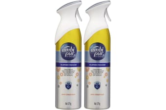 2PK Ambi Pur 275g Air Effects Allergen Reducer Pure Refreshment Odour Spray Home