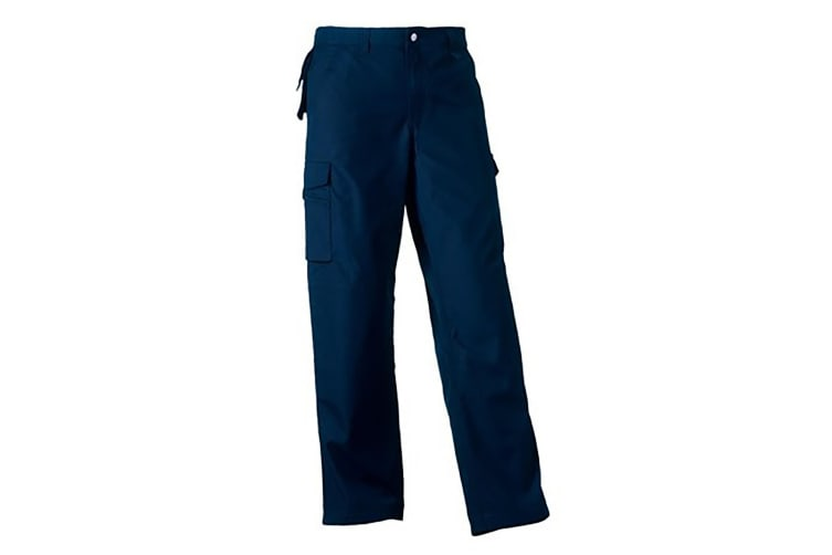 Russell Work Wear Heavy Duty Trousers / Pants(Regular) (French Navy) (46W x Regular)