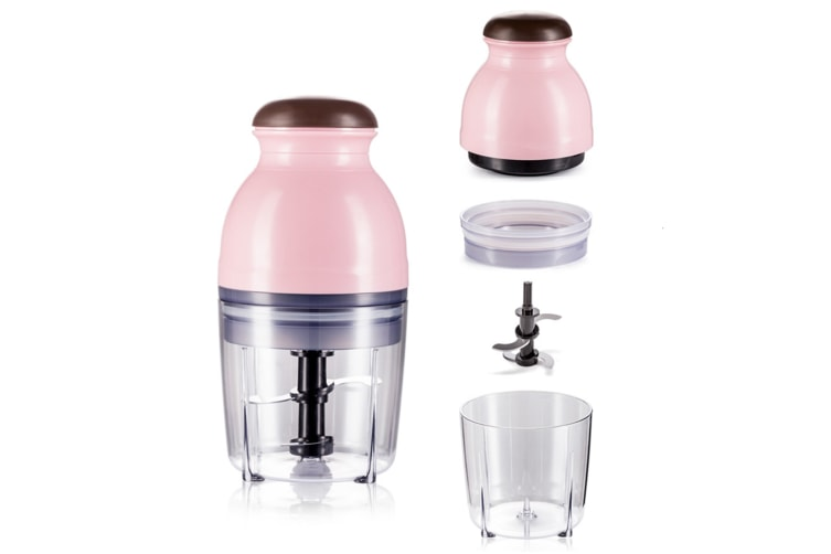 Home Cooking Machine Multi-Function Electric Baby Baby Mixing Food Machine - Pink Pink
