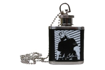 Kurt Cobain Flask Necklace
