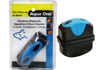 Medium Floating Magnet Cleaner for Aquarium Fish Tanks Glass up to 8mm by Aqua One