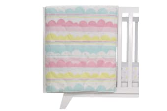 Lolli Living All seasons cot quilt Ice Cream