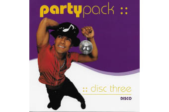 Various  - Party Pack Disc Three BRAND NEW SEALED MUSIC ALBUM CD - AU STOCK