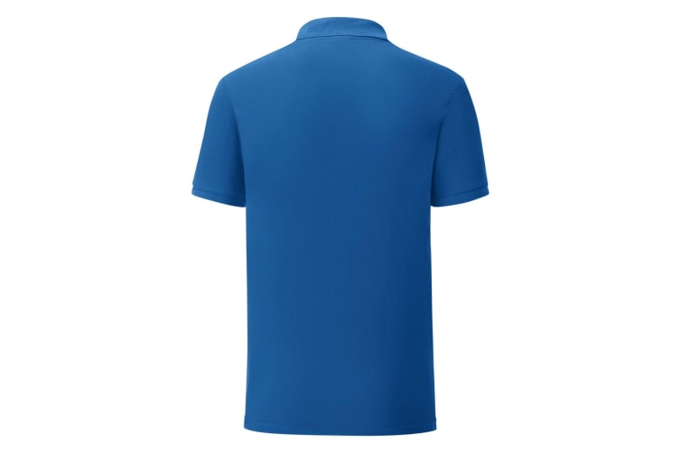 Fruit Of The Loom Mens Iconic Pique Polo Shirt (Royal Blue) (S)