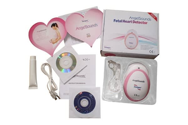 AngelSounds Fetal Doppler Heartbeat Monitor