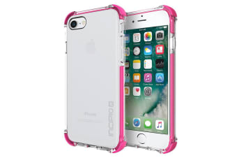 Incipio Reprieve Sport Protective Case with Reinforced corners for iPhone 7 - Clear/Pink