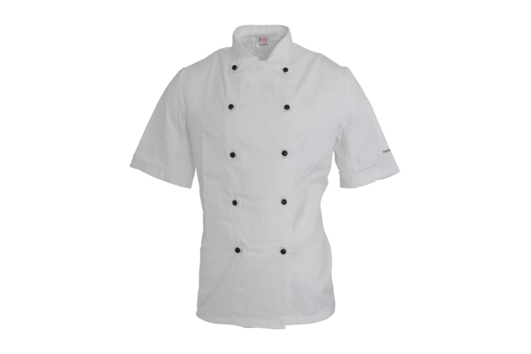 Dennys AFD Adults Unisex Thermocool Chefs Jacket (White) (XL)