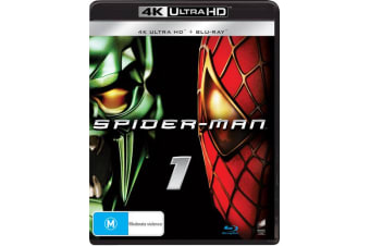 Spider Man 4K Ultra HD Blu-ray Digital Download UHD Region B