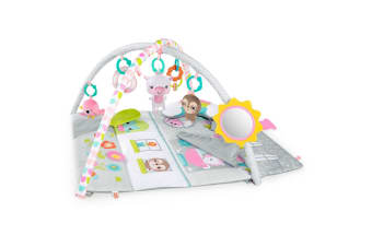Bright Starts Floor of Fun Baby Activity Gym & Dollhouse