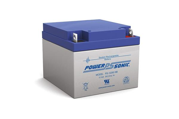 Power Sonic 12V 26Amp Sla Battery